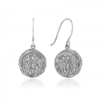 Earrings Coins Emblem