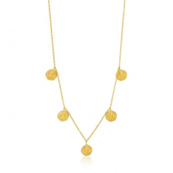 Necklace Coins Deus