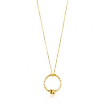 Necklace Modern Circle