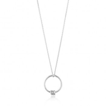 Necklace Modern Circle