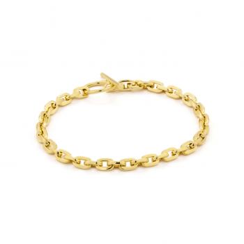 Gold Chain Hook Bracelet