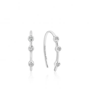 Silver Shimmer Stud Hook