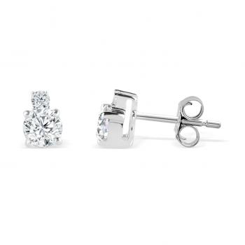 Earrings Pivoine