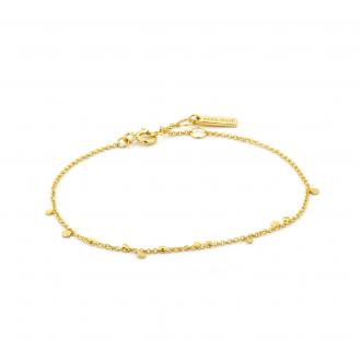 Gold Geometry Mixed Discs Bracelet
