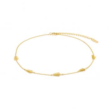 Gold Palm Choker