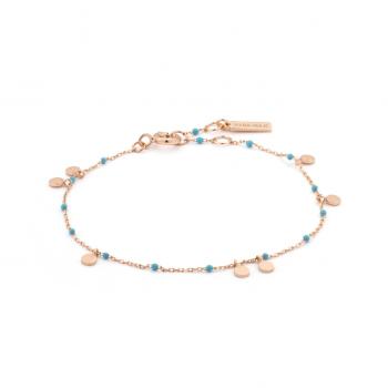 Bracelet Dotted Drop Discs