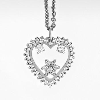 Necklace Coração