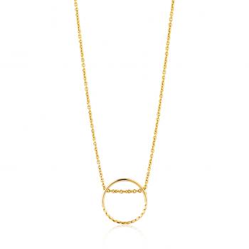 Gold Twist Chain Circle...