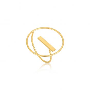 Gold Modern Circle...