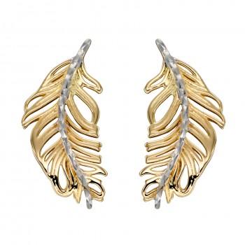 Earrings Plume