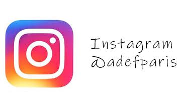 Instagram AdeF Paris